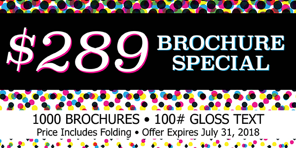 Brochure Special for July