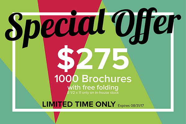Brochure Special Until August 31st