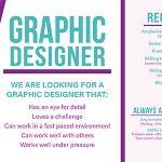 Now Hiring - Graphic Designer